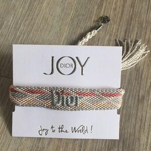 Authentic Dior BEAUTY friendship bracelet